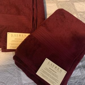 Ralph Lauren Towels